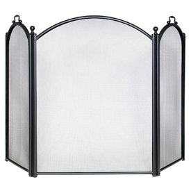 Pictured here is the Three-Fold Arch Center and Sides Fireplace Screen.