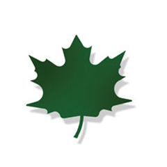 Wrought Iron Maple GREEN Magnet