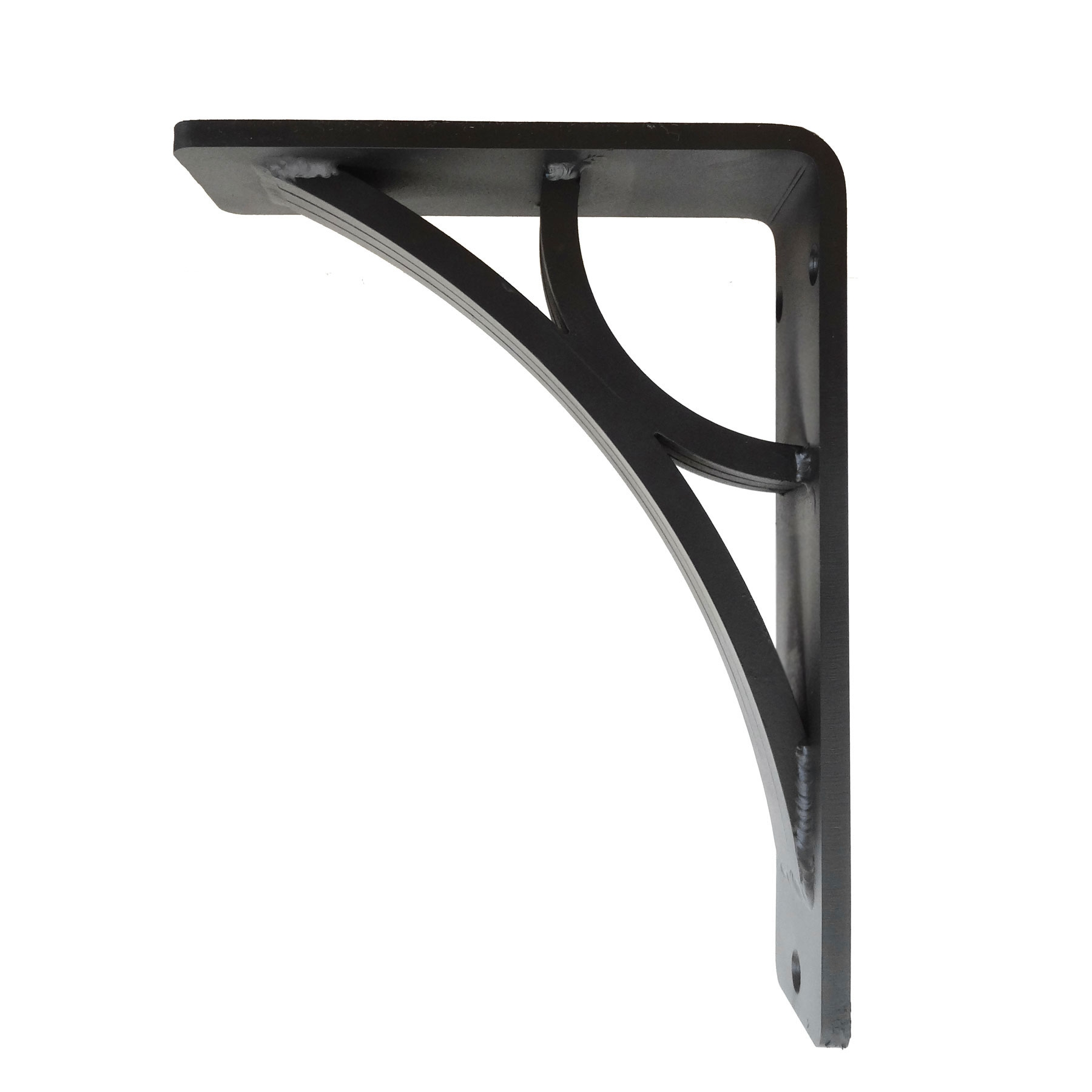 Eclipse Wrought Iron Corbel 2-in Wide   6 Sizes & 4 Finish Options