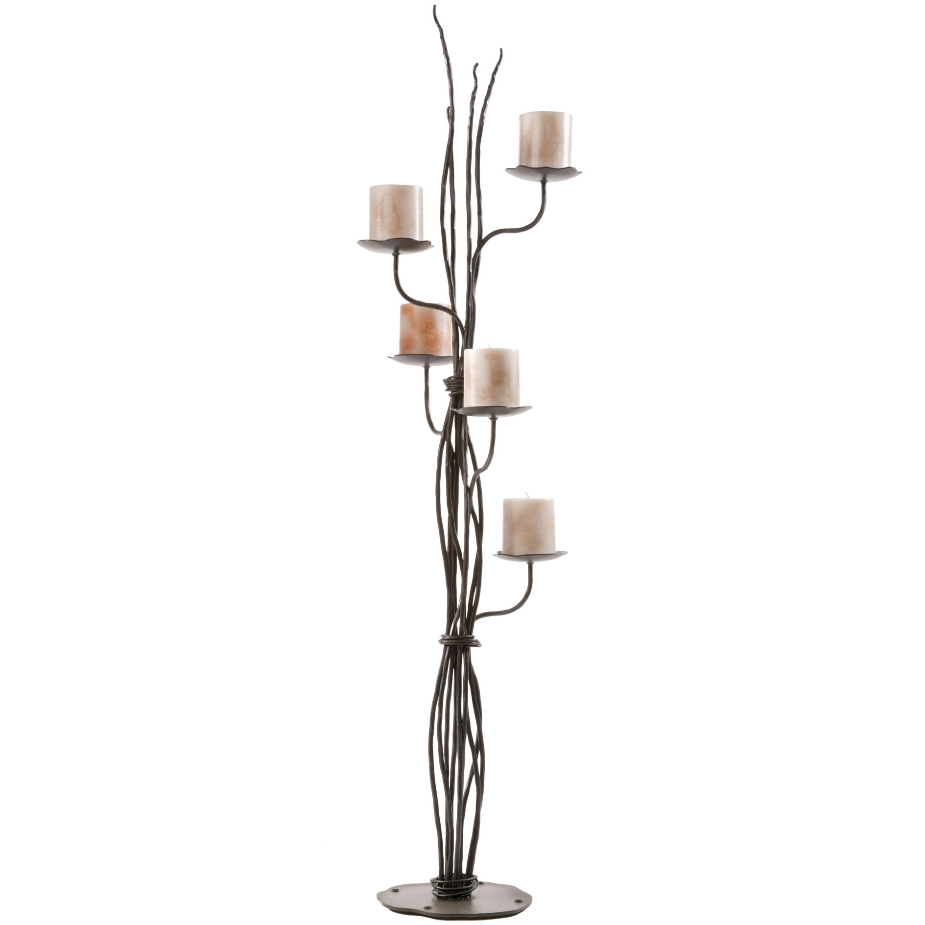 Image Gallery Iron Candle Holders