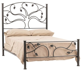 Wrought Iron Live Oak Headboard