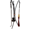 Pictured here is the hand-forged industrial style Studio Collection Fireplace Tool Set. Includes Broom, Fire-Poker, Ash Shovel, and Fireplace Tool Stand