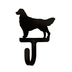 Wrought Iron Wall Hook Small - Retriever
