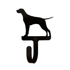 Wrought Iron Wall Hook Small - Pointer