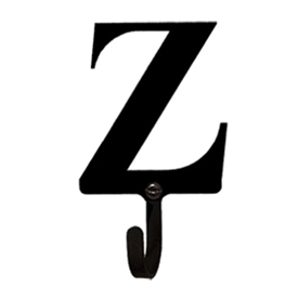 Wrought Iron Letter Z Wall Hook