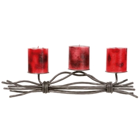 Rush Renaissance Triple Candle Holder