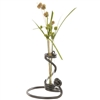 Knot Bud Vase hand-forged by blacksmiths at Stone County Ironworks and sold at Timeless Wrought Iron