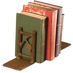 Rustic Whisper Creek Book Ends