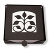 Wrought Iron Leaf Fan Napkin Holder (2-piece)