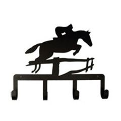 Wrought Iron Jumping Horse Key Holder