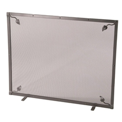 Leaf Single Panel Fireplace Screen