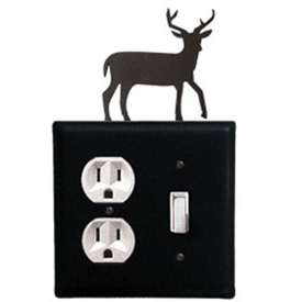 Wrought Iron Deer Outlet & Switch Cover