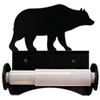 Wrought Iron Bear Toilet Paper Holder (Roller Style)