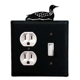 Wrought Iron Loon Outlet & Switch Cover