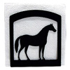 Wrought Iron Horse Napkin Holder