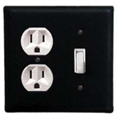 Wrought Iron Plain Outlet & Switch Cover