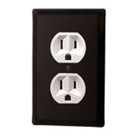 Wrought Iron Plain Outlet Cover