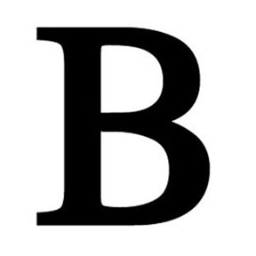 Wrought iron letter b for Furniture 6 letters
