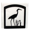 Wrought Iron Heron Napkin Holder