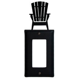 Wrought Iron Adirondack Chair Single GFI