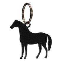 Wrought Iron Standing Horse Key Chain