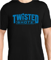 I.D TWISTED SHOTZ BLACK GIVEAWAY T-SHIRT XL