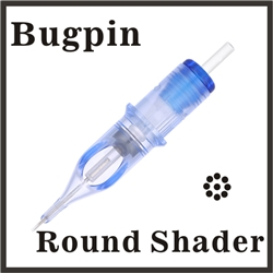 ELITE EVO Needle Cartridge Round Shader - Bugpin