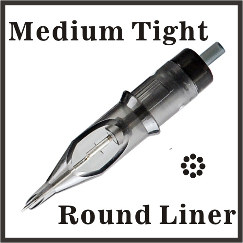 ELITE Needle Cartridge Round Liner - Medium Tight
