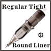 ELITE II Needle Cartridge Round Liner - Regular Tight - EC1203RLT