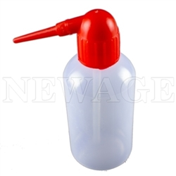 <!053>250ml 8 Oz Squeeze Bottles -Red