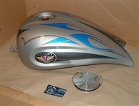 07 Victory Cory Ness Jackpot Gas Tank - Damaged