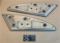 Victory Cross Country Chrome Driver's Floorboard Set