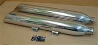 03-05 Victory Kingpin Vegas Chrome Muffler Set - Damaged