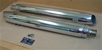 Indian Roadmaster Chrome Tour RH & LH Muffler Set - Chieftain