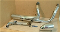 2016 Indian Roadmaster Exhaust Header Pipes & Shields ASM