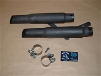 Aftermarket Muffler Set & Mounts off 2013 Victory Vegas 8 Ball