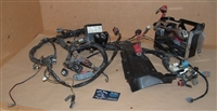 06 Victory Kingpin Complete Wiring Harness ASM & Chrome Battery Box