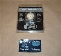 Victory Chrome Handlebar Thermometer