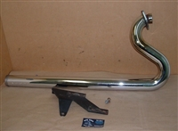 Victory Hammer Rear Header Pipe -Victory Shotgun Pipes