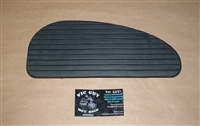 Victory V92 RH Driver's Floorboard Pad - New Old Stock