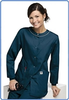 Eco-Friendly Scrubs Jacket- Blossom Style