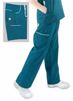 Eco-Friendly Scrubs Pants- Emerald Style