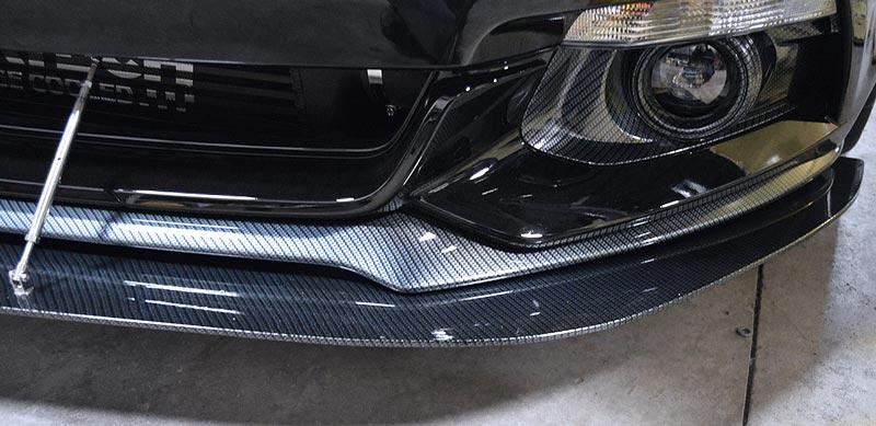 2015 2018 Mustang Front Splitter Mrt