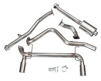 "2013-2016 Scion FR-S/Subaru BRZ Performance Exhaust System w/ Resonator & 4"" Tips 98Z155"