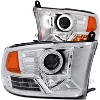 2009-UP Dodge Ram Projector Head Light with Halo LED
