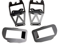 KD Fabworks Tow Hook Eliminator Brackets - 11-15 Ford Super Duty