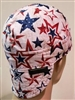 welding hat American stars USA red white and blue stars