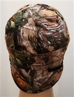 camouflage welding cap or hat
