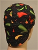 Salsa welders hat with yellow green and hot red peppers recipe.