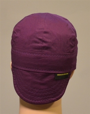 purple welding hats or caps